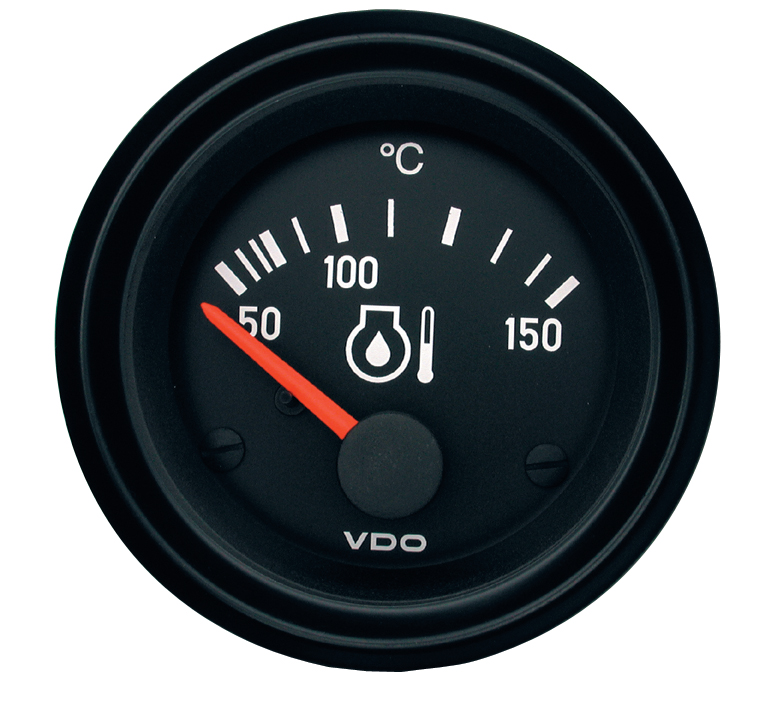 International Temp Oil Gauge