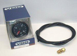 VDO Boost Gauge kit